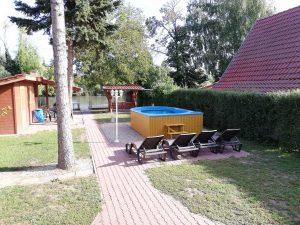 Körös-parti szállás - kert