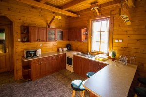 Körös-parti szállás - konyha