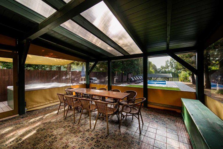 Villa Olívia Nyaraló - terasz
