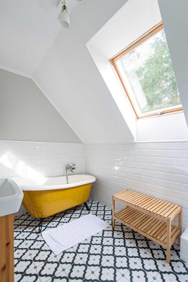 Villa Olívia Nyaraló - emeleti fürdőszoba